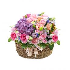 꽃[바구니-316]축하해주세요