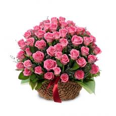 [바구니-326]분홍 꽃가마