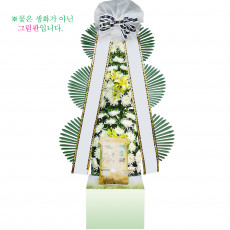 [근조]쌀화환10kg01호